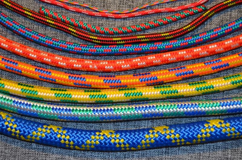 Шнур полипропиленоый плетеный 16-прядный